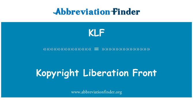 KLF: Kopyright Liberation Front