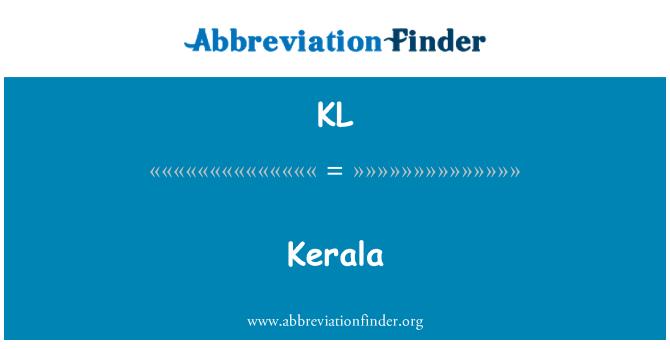 KL: Kerala