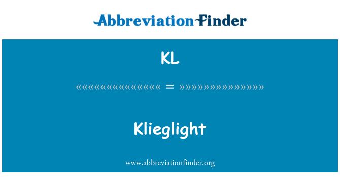 KL: Klieglight