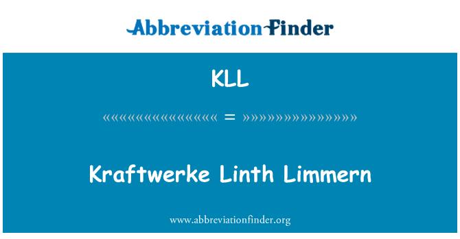 KLL: Kraftwerke Linth Limmern