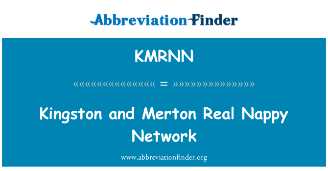 KMRNN: Kingston and Merton Real Nappy Network
