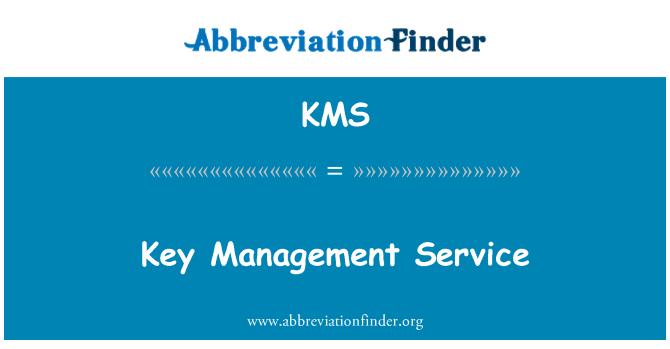KMS: Key Management Service