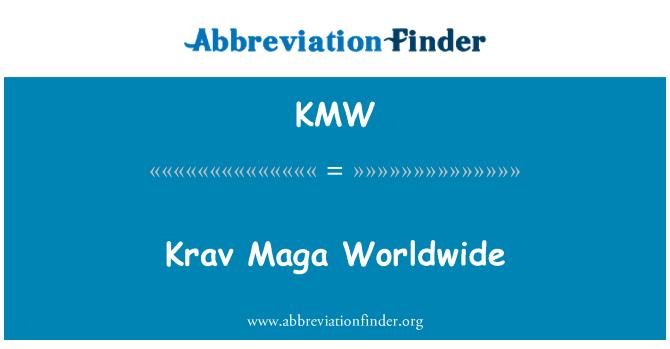 KMW: Krav Maga Worldwide