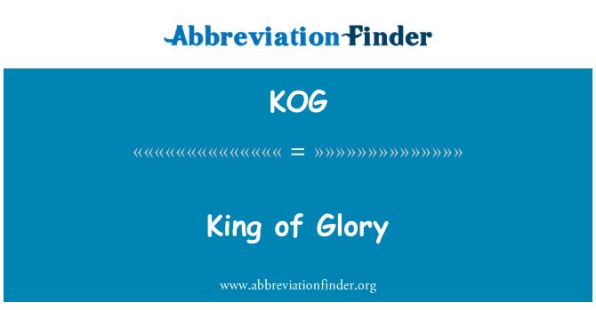 KOG: King of Glory