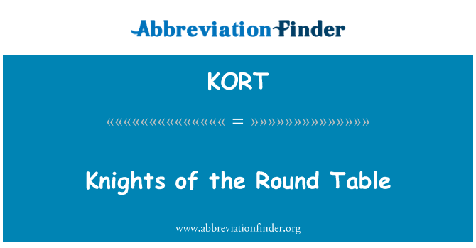 KORT: Knights of the Round Table