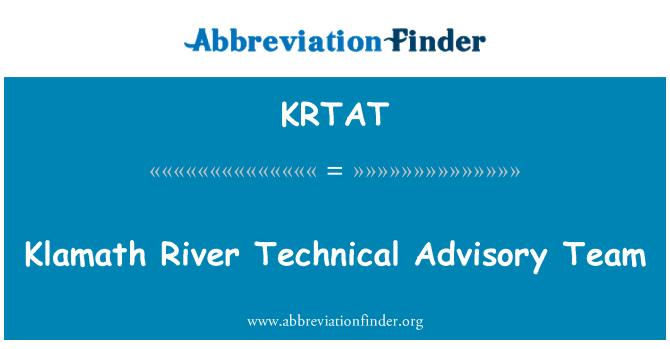 KRTAT: Klamath River Technical Advisory Team