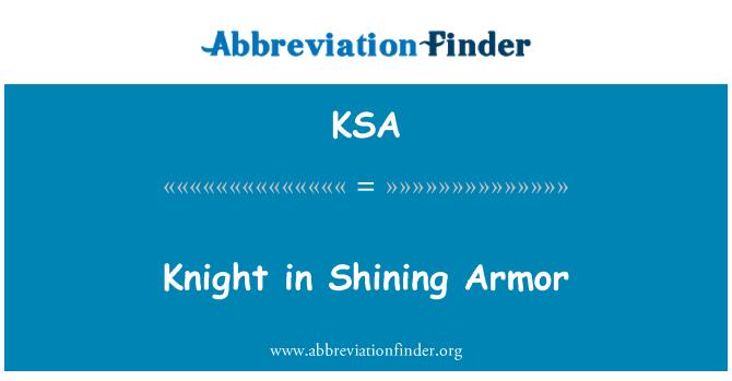 KSA: Knight in Shining Armor