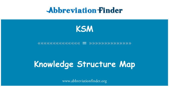 KSM: Knowledge Structure Map