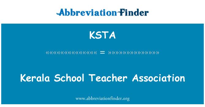 KSTA: Kerala School Teacher Association