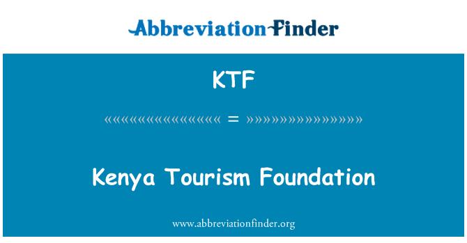 KTF: Kenya Tourism Foundation