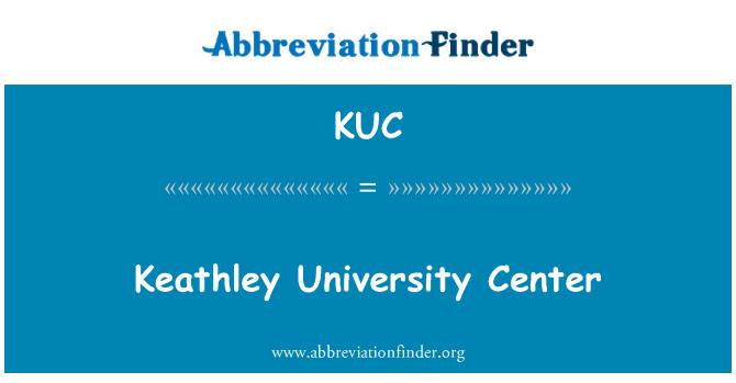 KUC: Keathley University Center