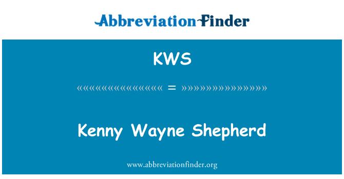 KWS: Kenny Wayne Shepherd