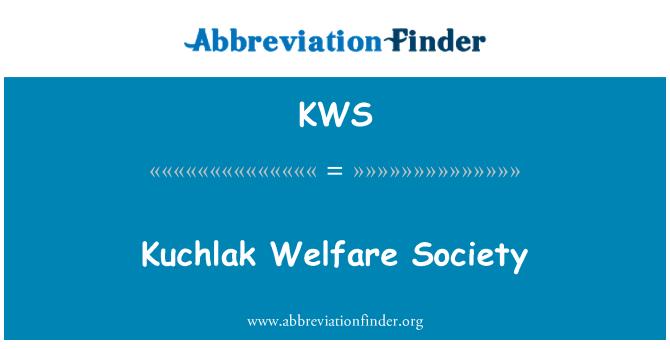 KWS: Kuchlak Welfare Society