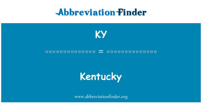 KY: Kentucky