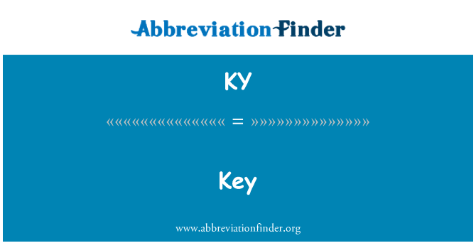 KY: Key