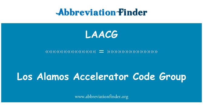 LAACG: Los Alamos Accelerator Code Group