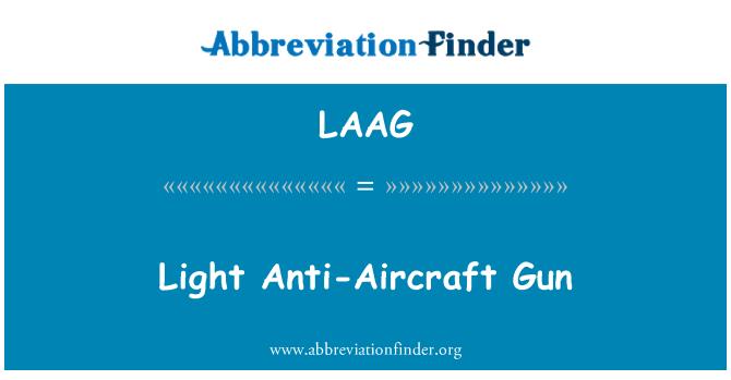 LAAG: Light Anti-Aircraft Gun