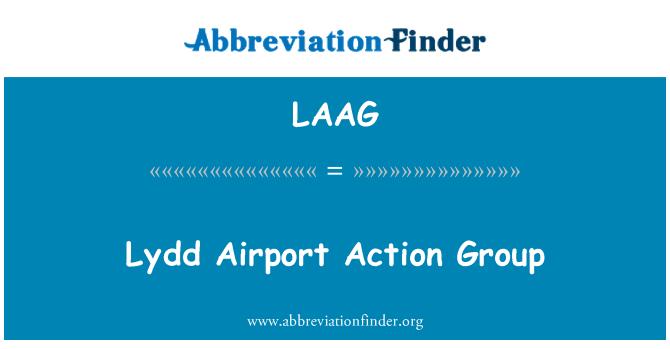 LAAG: لیدد ایئر پورٹ ایکشن گروپ