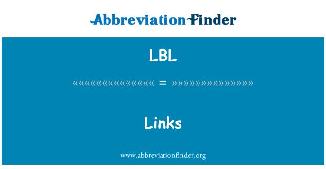 LBL: Pautan