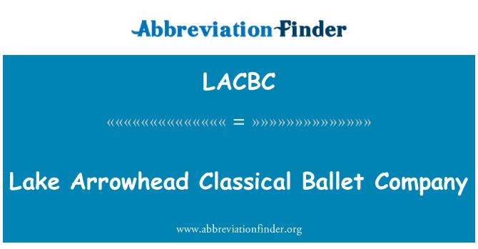 LACBC: Lake Arrowhead Classical Ballet Company