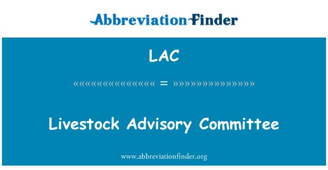LAC: Livestock Advisory Committee