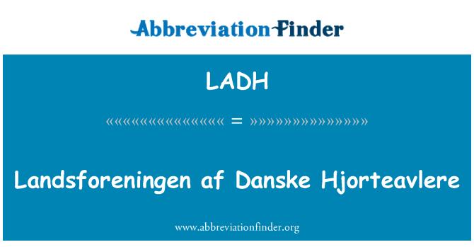LADH: Landsforeningen af Danske Hjorteavlere