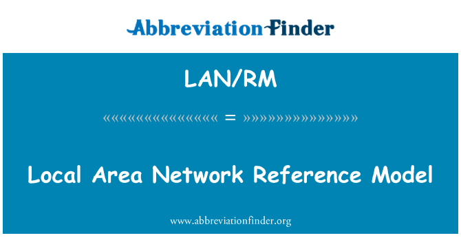 LAN/RM: Local Area Network Reference Model