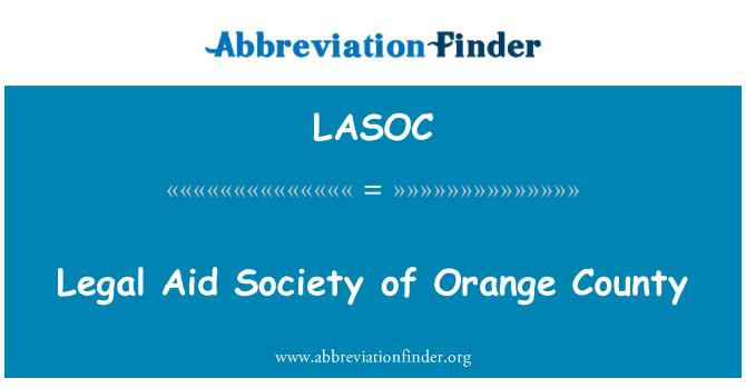 LASOC: Legal Aid Society of Orange County
