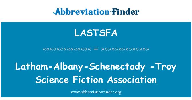 LASTSFA: Latham-Albany-Schenectady -Troy Science Fiction Association