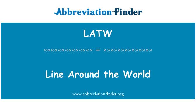 LATW: Línea alrededor del mundo