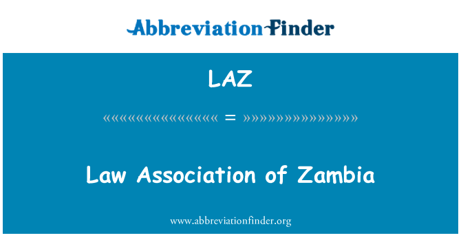 LAZ: Law Association of Zambia