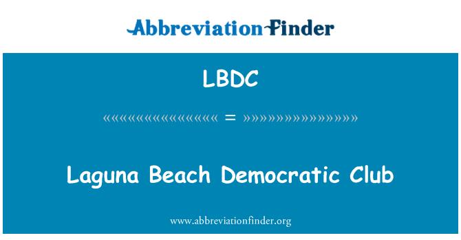 LBDC: Laguna Beach Democratic Club