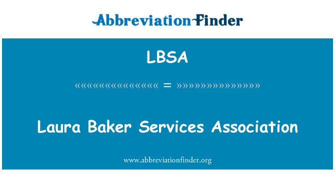 LBSA: Laura Baker Services Association