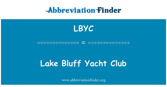 LBYC: Lake Bluff Yacht Club