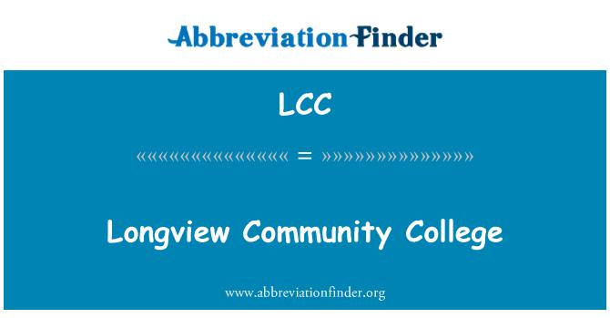 LCC: Longview Community College