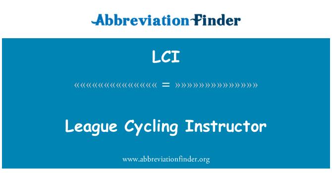 LCI: League Cycling Instructor