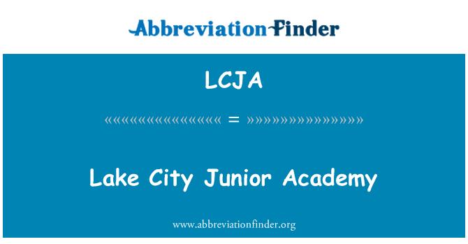 LCJA: Lake City Junior Academy