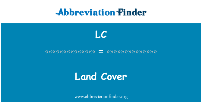 LC: Land Cover