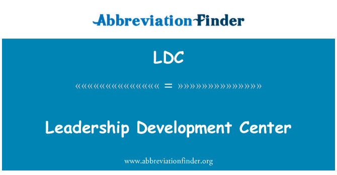 LDC: Leadership Development Center