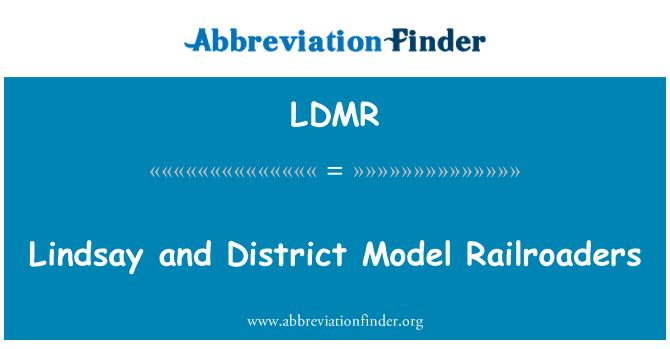 LDMR: Lindsay and District Model Railroaders