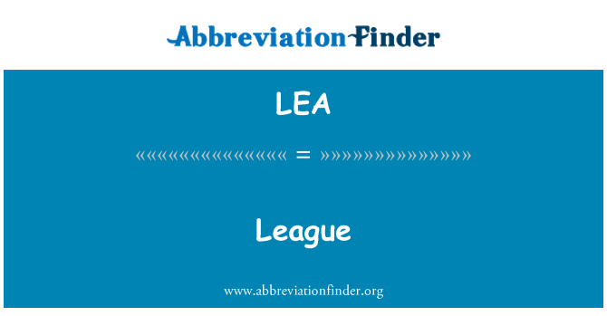 LEA: League