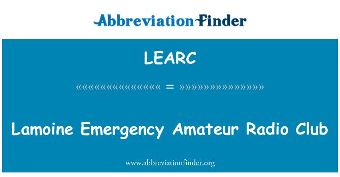 LEARC: Lamoine Emergency Amateur Radio Club