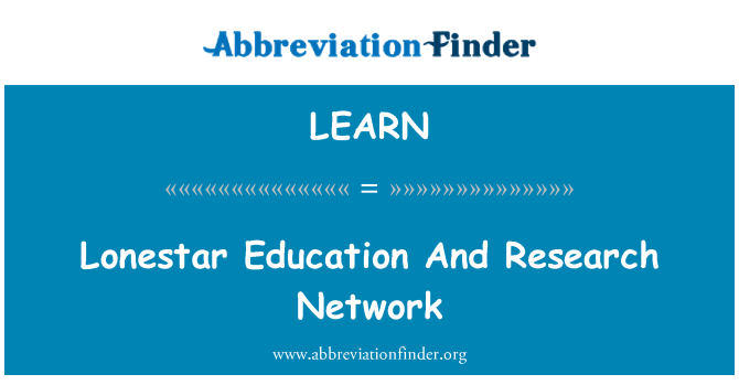 LEARN: 孤星教育和科研计算机网
