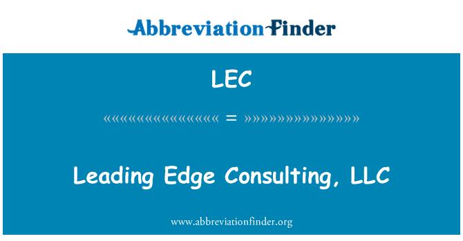 LEC: Leading Edge Consulting, LLC