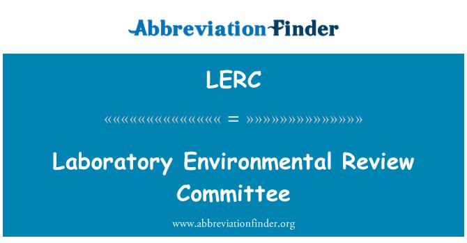 LERC: Laboratorij zaštite okoliša Odbor