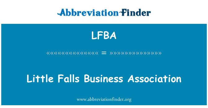 LFBA: Little Falls ettevõtjate ühendus