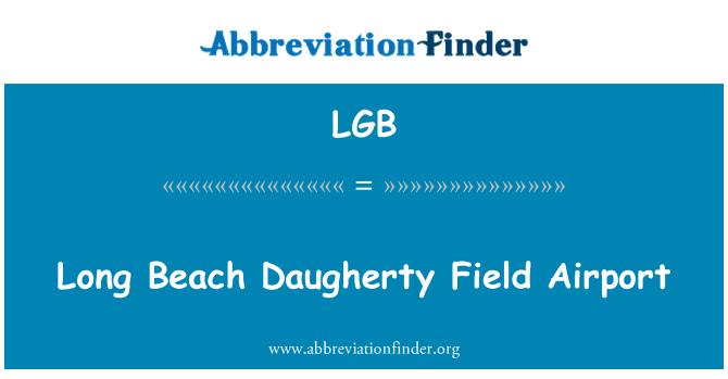 LGB: Long Beach Daugherty Field Airport