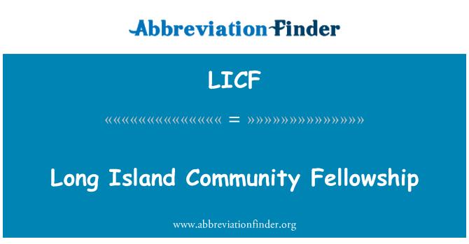 LICF: Long Island topluluk Bursu
