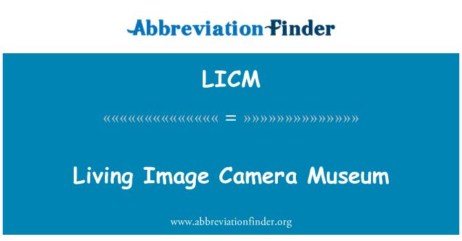 LICM: Living Image Camera Museum