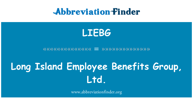 LIEBG: Long Island Employee Benefits Group, Ltd.